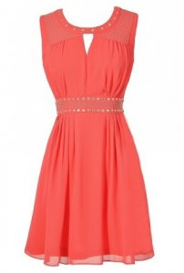 Coral Sundress Juniors