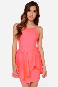 Coral Sundresses