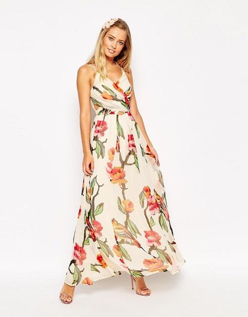 Floral Sundress Dressed Up Girl