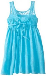 Girls Blue Sundress