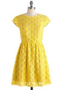 Girls Yellow Sundress
