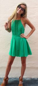 Green Sundress Images