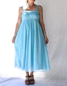 Images of Light Blue Sundress