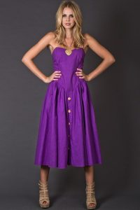 Images of Purple Sundress