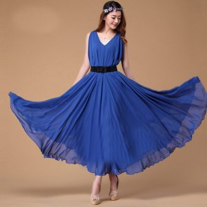 Images of Royal Blue Sundress