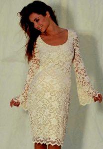 Ivory Lace Sundress