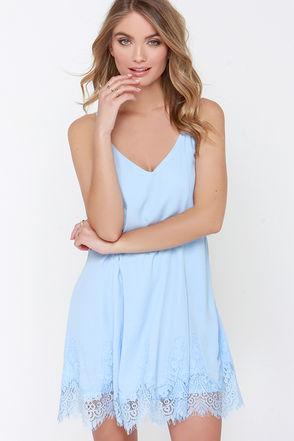 Blue Sundress Dressedupgirl Com