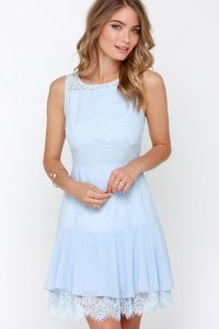 Light Blue Sundress Images