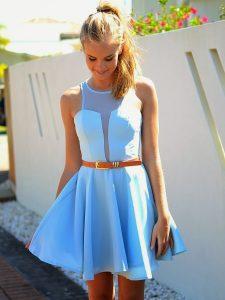 Light Blue Sundress Pictures