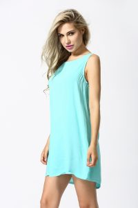 Light Blue Sundress Womens