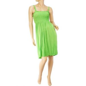 Lime Green Sundress
