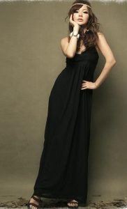Long Black Sundress