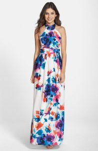 Long Flower Sundresses