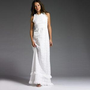 Long White Sundress