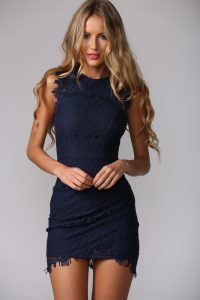 Navy Blue Sundress