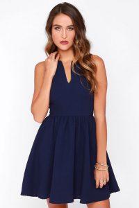 Navy Blue Sundress