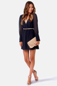 Navy Blue Sundress Images