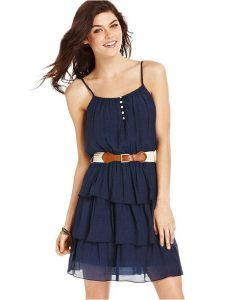Navy Blue Sundress Juniors