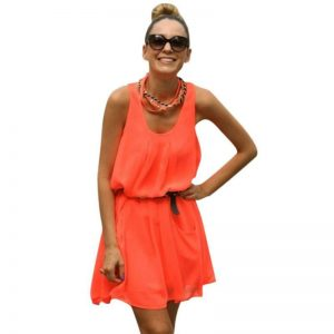 Orange Sundress Pictures