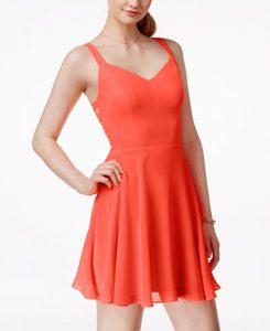 Orange Sundress for Juniors