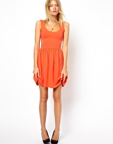 Orange Sundress | Dressed Up Girl