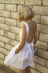 Pictures of Backless Sundress
