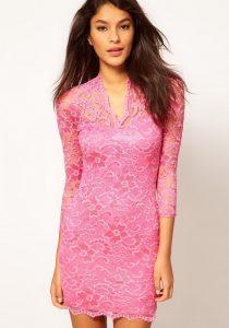 Pink Lace Sundress