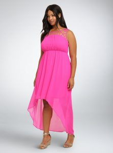 Pink Sundress Plus Size