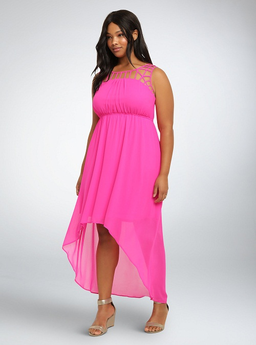 Pink Sundress Dressedupgirl Com