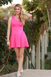 Pink Sundresses
