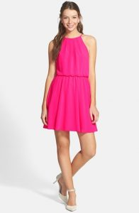 Pink Sundresses for Juniors