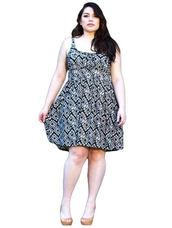 Plus Size Sundresses Dressed Up Girl
