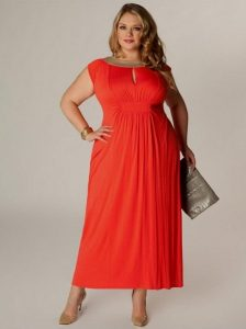 Plus Size Coral Sundress