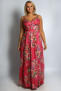 Plus Size Maxi Sundresses
