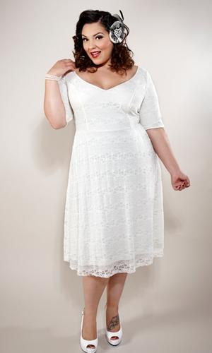 Beautiful White Plus Size Sundress Gallery - Mikejaninesmith.us ...