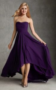 Purple Sundress Bridesmaid