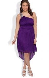 Purple Sundress Plus Size