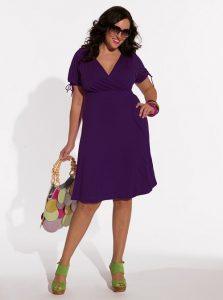 Purple Sundress Plus Size