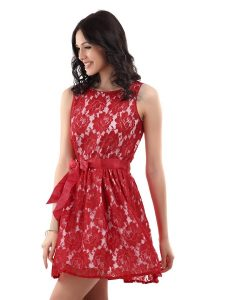 Red Lace Sundress
