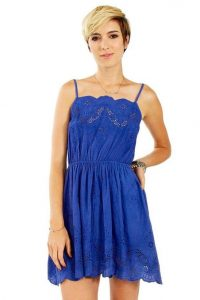 Royal Blue Sundress Images