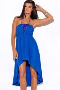 Royal Blue Sundress Pictures