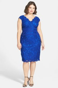 Royal Blue Sundress Plus Size