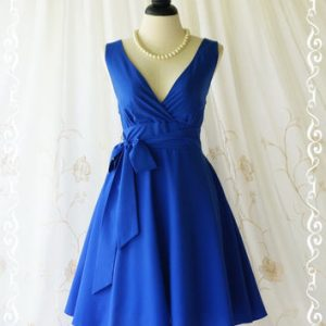 Royal Blue Sundresses Picture
