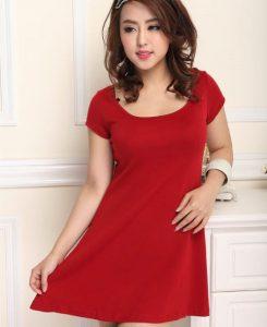 Short Red Sundress