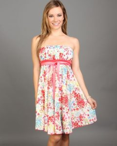 Strapless Sundress