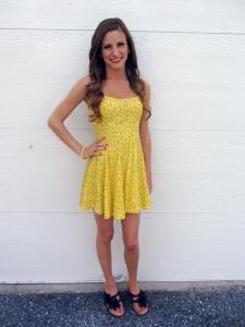Sundress Yellow