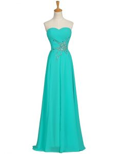 Turquoise Sundress Long