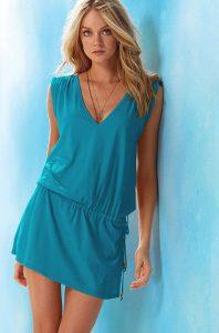 Turquoise Sundress Short