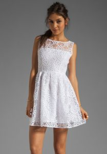 White Summer Sundresses