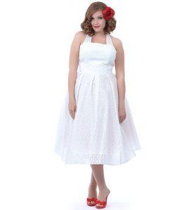 White Sundress Plus Size